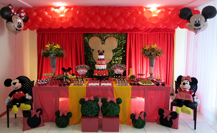 festa mickey minnie